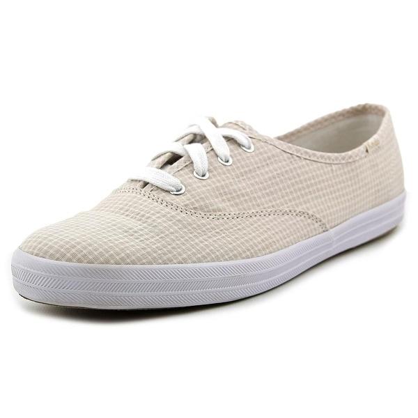 fd9e25a03224 Shop Keds Champion Seersucker Women Round Toe Canvas Sneakers ...