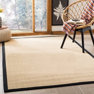 Link to Safavieh Natural Fiber Edle Border Sisal Rug Similar Items in Rustic Rugs