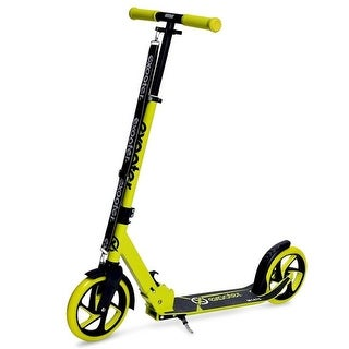 Teen Cruiser Kick Scooter with 200mm Wheels, Vibrant Green - 5XL