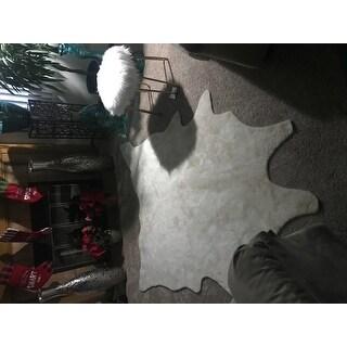 Alexander Home Rawhide Ivory Rug (5'0 x 6'6)