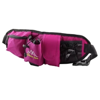 Clever Bees Authorized Cycling Running Pocket Phone Key Holder Waist Bag Fuchsia