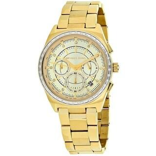 Michael Kors Women's Vail Gold tone Dial Watch - MK6421