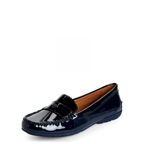 Coach Womens Odette Leather Square Toe Loafers