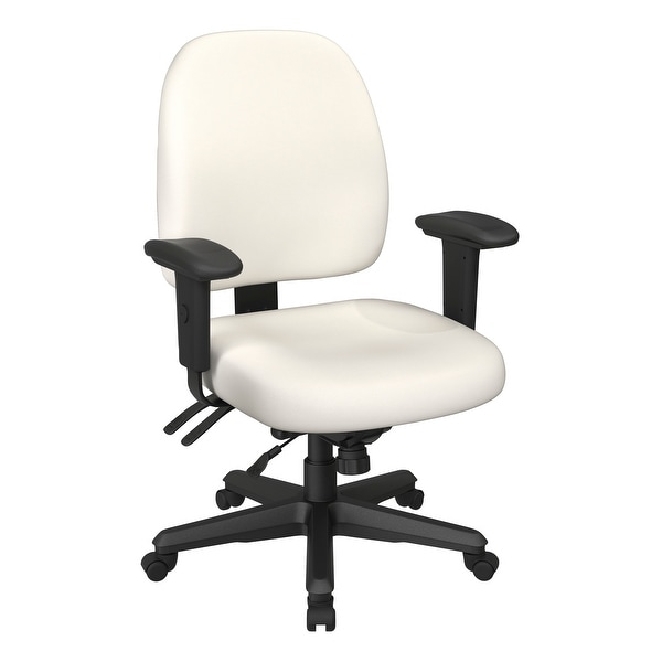 Ergonomic Height-adjustable Office Task Chair. Opens flyout.