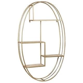 Ashley Furniture Elea Ellipse Design Wall Shelf A8010106