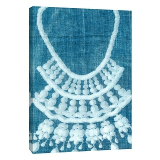"PTM Images 9-109058  PTM Canvas Collection 10"" x 8"" - ""Cyanotype D"" Giclee Jewelry Art Print on Canvas"