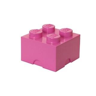 LEGO Storage Brick 4, Bright Pink