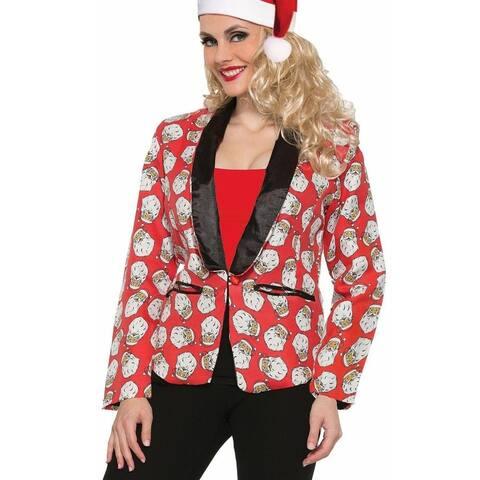 Santa Claus Blazer Adult Women