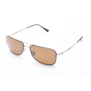 Ray-Ban Rimless Pilot Sunglasses Copper - Small