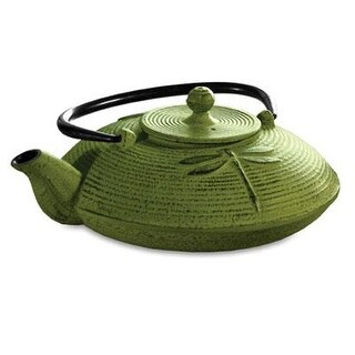 Epoca - Pci-5228 - Primula Cast Iron Teapot Green