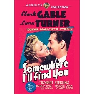 Somewhere Ill Find You DVD Movie 1942