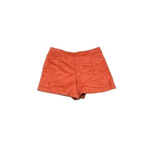 Sanctuary Brown Faux-Suede Shorts 32