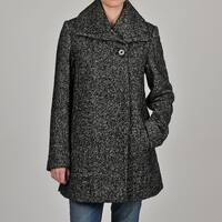 Hilary Radley Women's Pebble Tweed Jacket