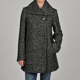 Hilary Radley Women's Pebble Tweed Jacket