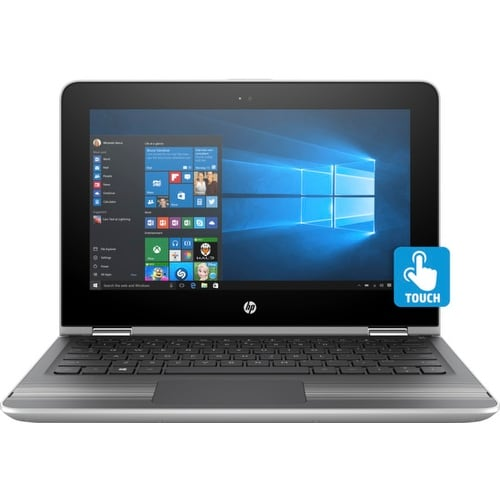 """HP Pavilion x360 Convertible, 15.6"""" WLED Touchscreen, 1TB HDD, with Office365 (Certified Refurbished) - Silver"""
