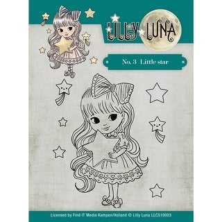 Find It Trading Lilly Luna Clear Stamps-Little Star