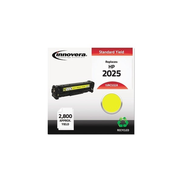 Innovera Remanufactured CC532A (304A) Toner, Yellow Remanufactured CC532A (304A) Toner, Yellow