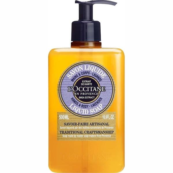 L'Occitane Shea Lavender Hands & Body 16.9-ounce Liquid Soap. Opens flyout.