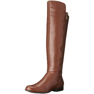 Bandolino Womens Cammew Riding Boots Leather Wide Calf