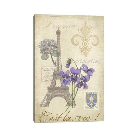"iCanvas ""Paris Tour I"" by Jade Reynolds Canvas Print"