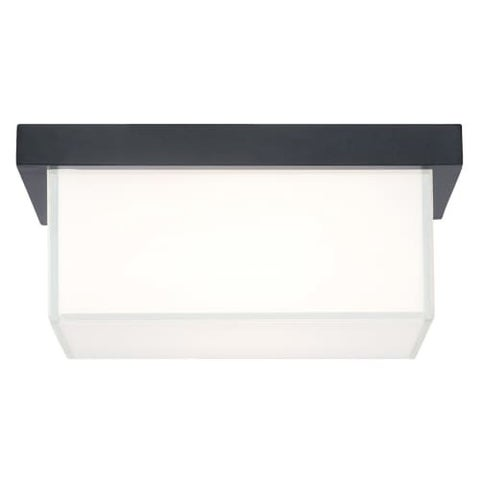 """Modern Forms FM-1410 Ledge 1 Light 8"""" Wide LED Outdoor Flush Mount Ceiling Fixture - 8 Inches Wide"""