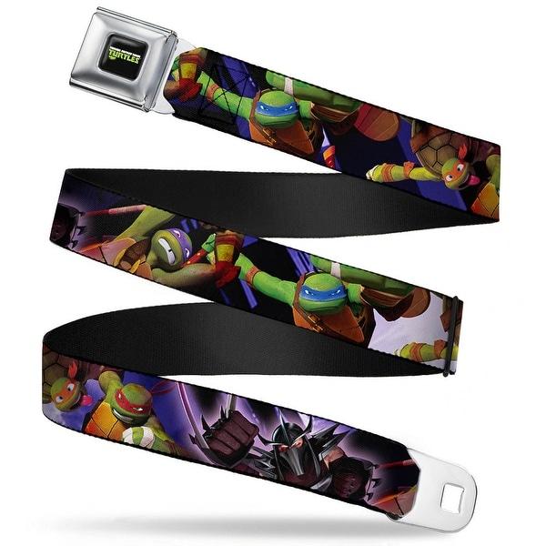 New Series Teenage Mutant Ninja Turtles Logo Full Color New Series Tmnt Seatbelt Belt