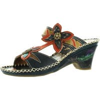 Corkys Womens Elite Poppy Hand Painted Fashion Sandals