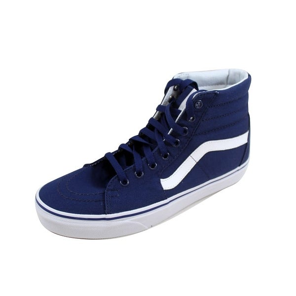 6dc5c0c0d56b77 Shop Vans Men s SK8 Hi New York Yankees Navy VN0A38GEKU3 - Free ...