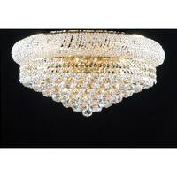 Swarovski Crystal Trimmed Chandelier Lighting Flush Empire15x 24