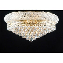 Swarovski Elements Crystal Trimmed Chandelier Lighting Flush Empire15x 24