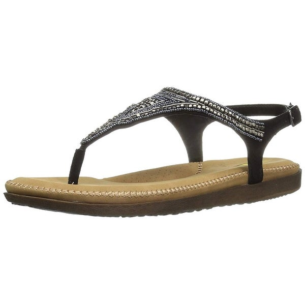 Volatile Womens entity Open Toe Casual Slide Sandals