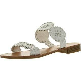 Pierre Dumas Women's Rosetta-4 Slip-On Woven Sandals
