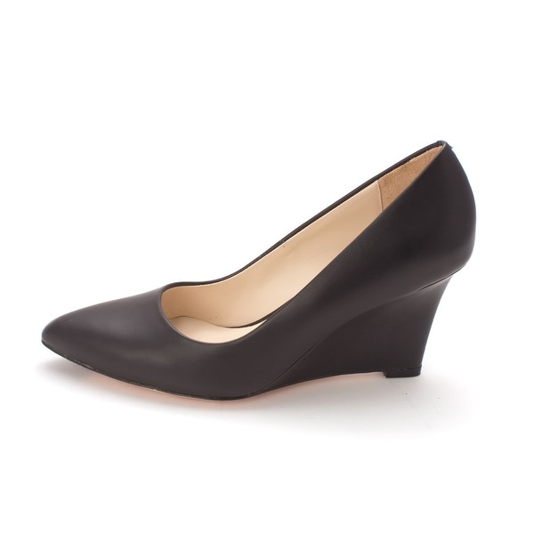 Cole Haan Womens Sammysam Pointed Toe Wedge Pumps