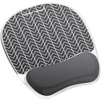 FELLOWES 9549901 Photo Gel Mouse Pad Wrist Rest with Microban(R)