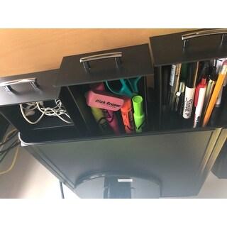 Shop Mind Reader Perch Black Plastic Pc Laptop Imac