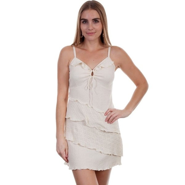 561358b1bf Shop Scully Western Dress Womens Sleeveless Cantina Key Hole - Free  Shipping Today - Overstock.com - 15381103