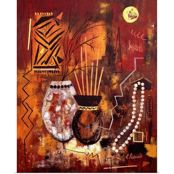 """""""African Inspired"""" Poster Print"""