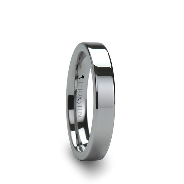 THORSTEN - SPARTAN Flat Tungsten Ring - 4mm