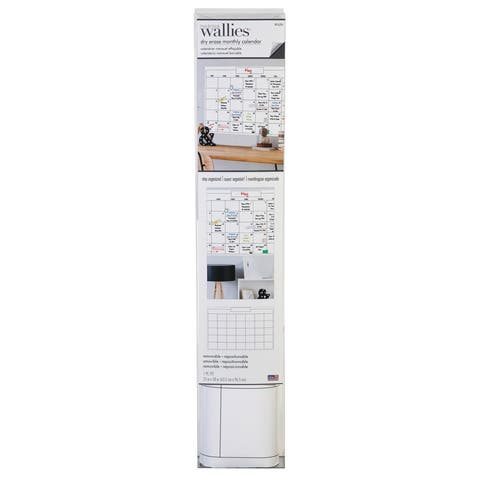 """Dry Erase Monthly Wall Calendar, 25"""" x 38"""" - One Size"""