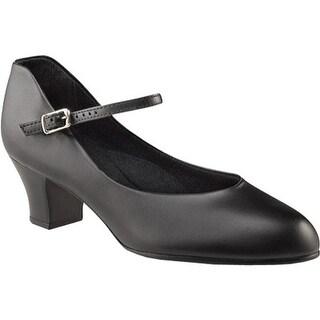 Capezio Dance Women's Jr. Footlight W - 550 Black
