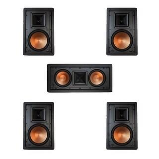 Klipsch 5.0 In-Wall System w\ 2 R-5800-W II, 1 Klipsch R-5502-W II, 2 Klipsch R-5800-W II