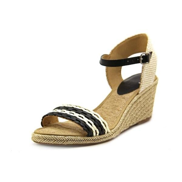 Lucky Brand Kavelli 2 Open Toe Synthetic Wedge Heel
