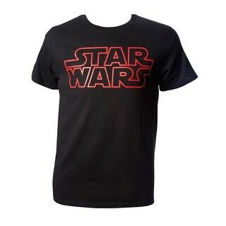 Mens Star Wars Red Logo Short-Sleeve T-Shirt