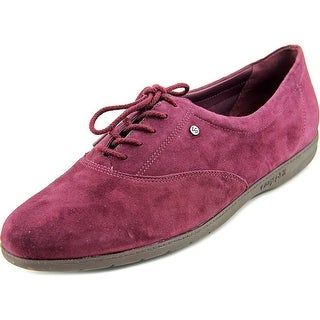 Easy Spirit Motion Round Toe Suede Oxford