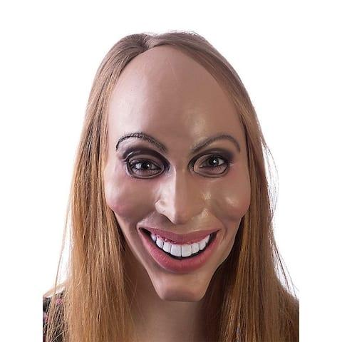 Eradicate Plastic Surgery Adult Costume Mask - Tan