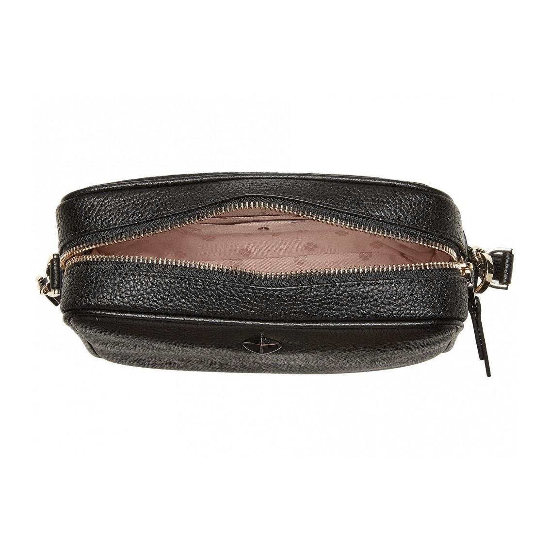 Shop Kate Spade Polly Medium Camera Bag Black Overstock 30118166