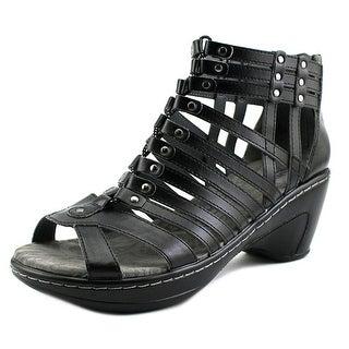 JBU by Jambu Nectar Women Open Toe Leather Wedge Sandal