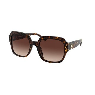 Link to Tory Burch TY7143U 172813 56 Dark Tortoise Woman Square Sunglasses Similar Items in Women's Sunglasses