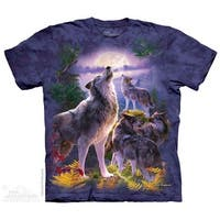 The Mountain WOLFPACK MOON Adult T-Shirt