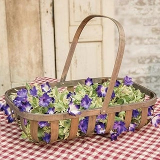 Link to Rectangle Tobacco Basket with Handle Similar Items in Decorative Accessories